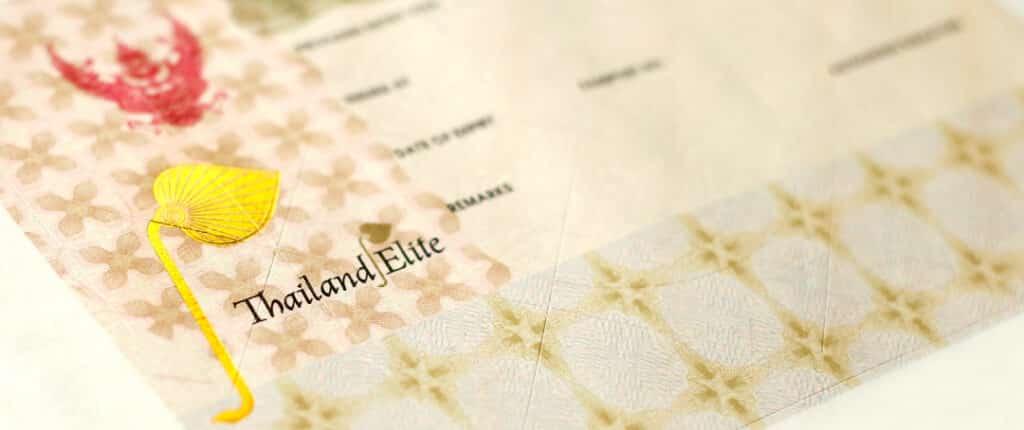 thailand elite visa cost